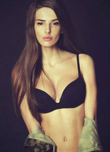Anna Andres beautiful model from Ukraine
