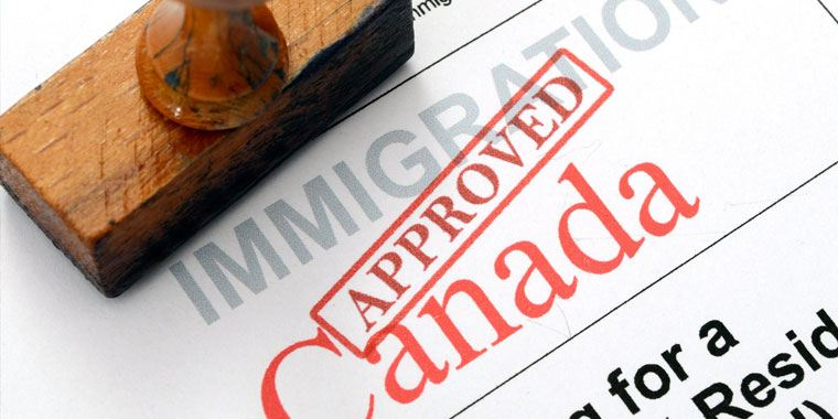 Canada immigration application approved