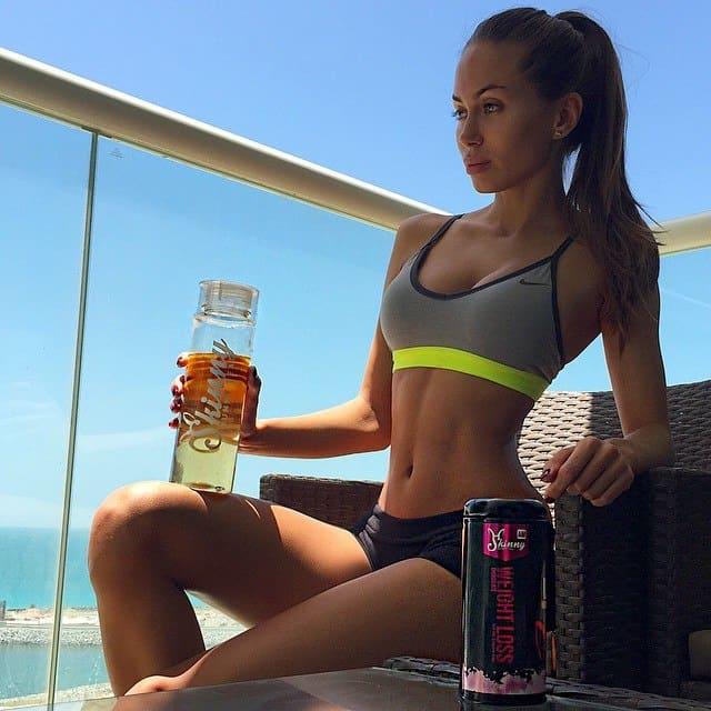 Galinka Mirgaeva popular fitness Instagrammer