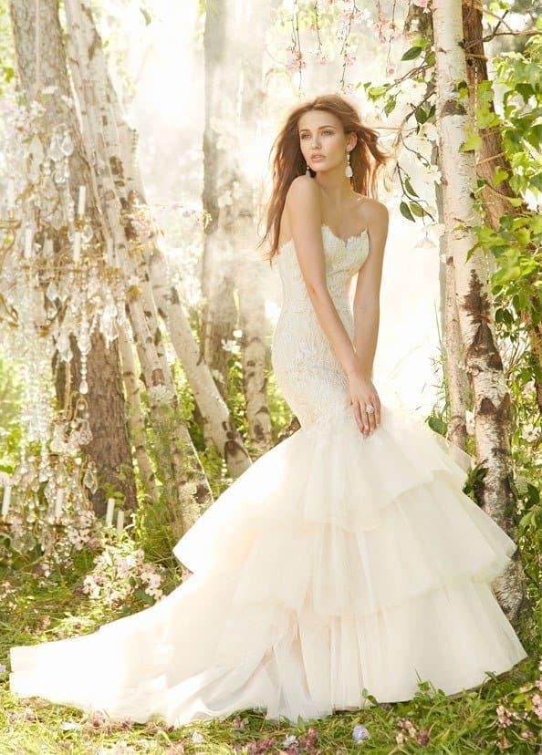 Kristina Romanova bridal collection photoshoot