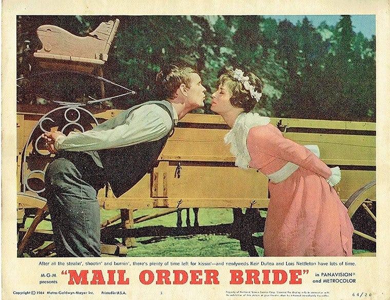 Mail Order Bride (1964) poster