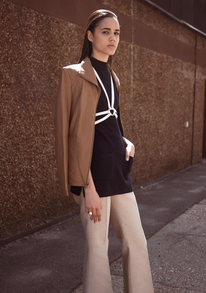 Mily Reuter slim Dominican model