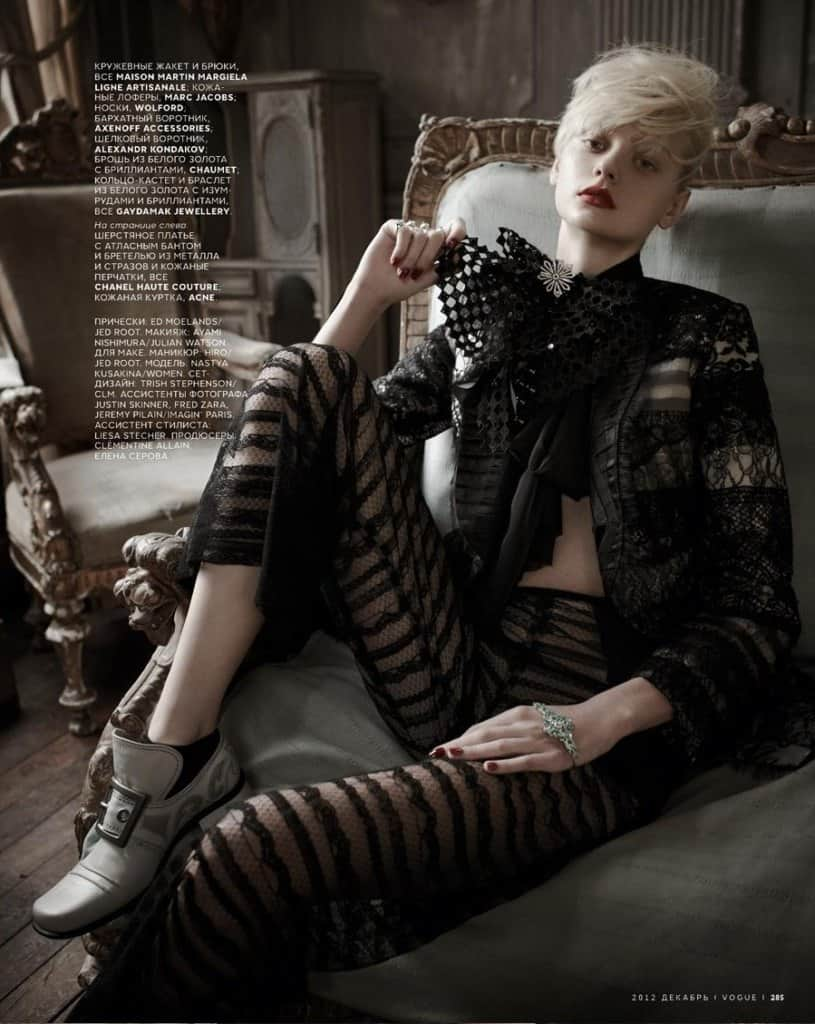 Nastya Kusakina fashion photography