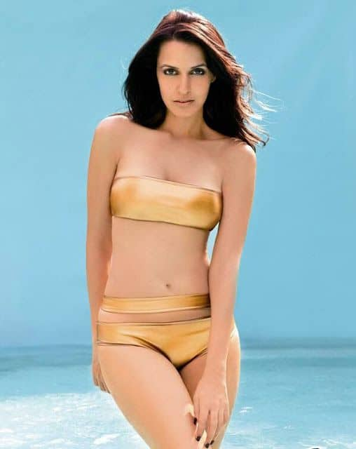 Neha Dhupia hot and sensual