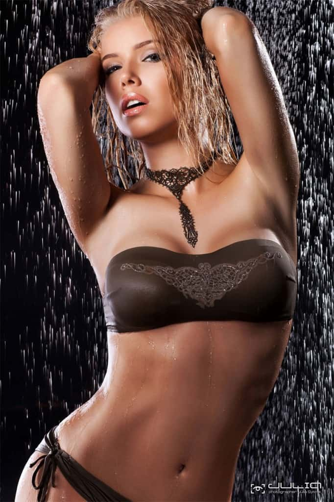 Olga Tretyachenko wet and wild