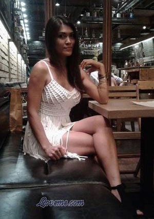 pretty Thailand woman at a restaurant