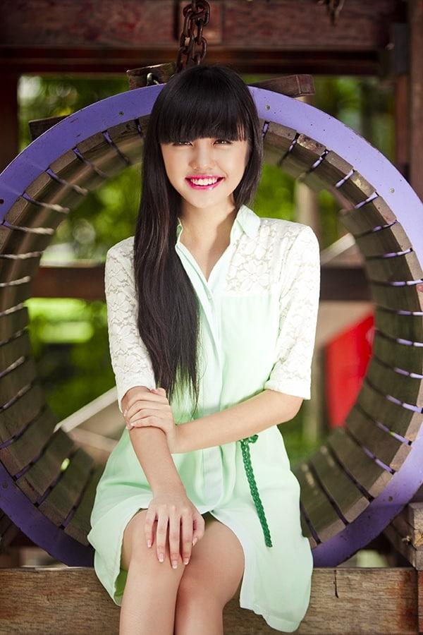 Rima Nguyen cute Vietnamese girl