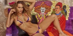 Sexy Mexican bikini girl