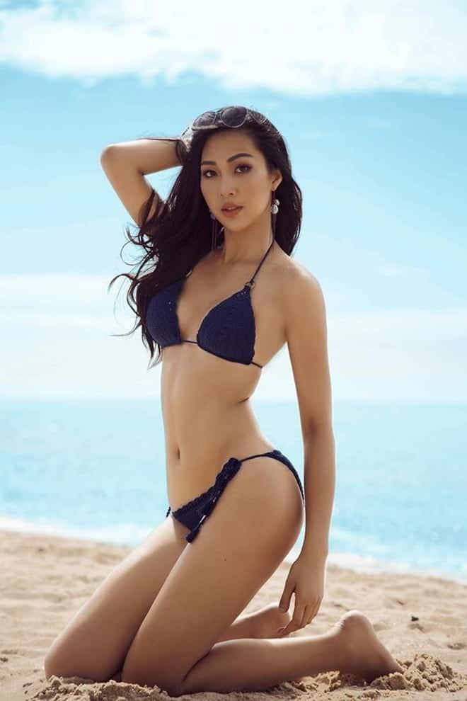 Trương Thị Diệu Ngọc sexy Vietnamese model