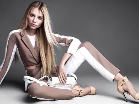 Vika Falileeva blonde Russian model