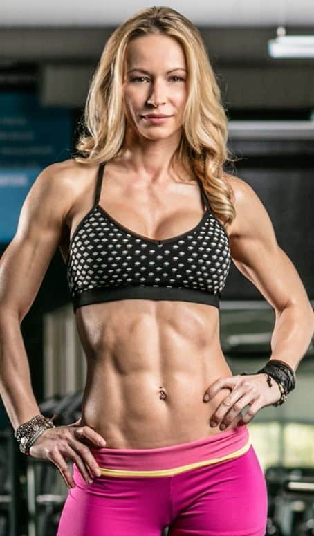 Zuzka Light nice and wonderful abs