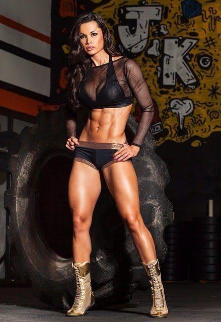Fernanda D'Avila gorgeous body