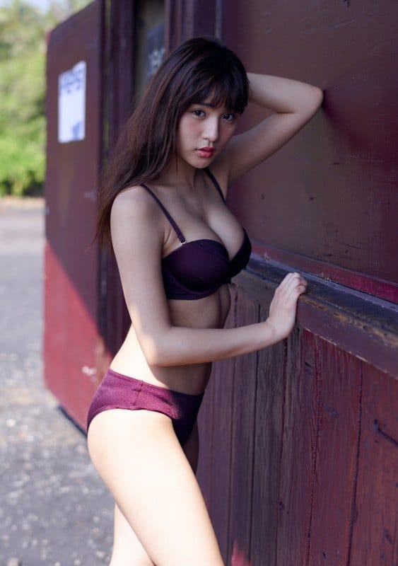 Nana Asakawa playboy Hawaii pictorial