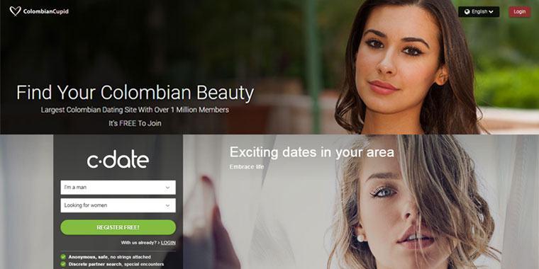 Colombian Cupid vs C-Date