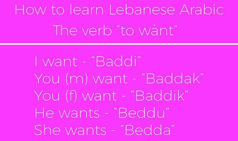 Lebanese Arabic sample