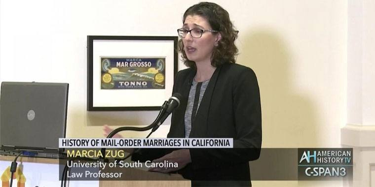 Marcia Zug law professor at the University of South Carolina
