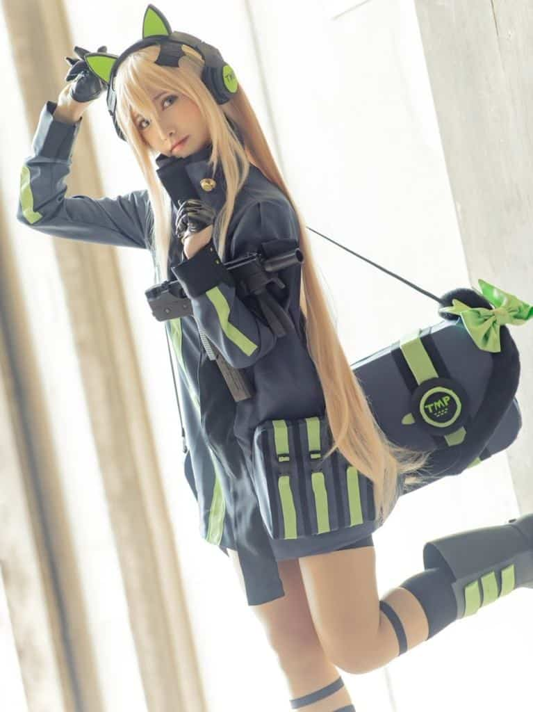 Mashiro cute cat cosplay