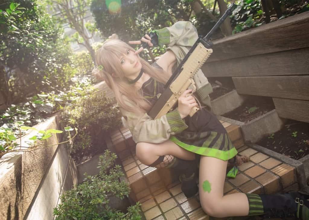 Mashiro Hiiragi girls frontline cosplay