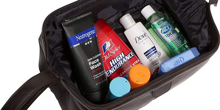toiletries bag for men