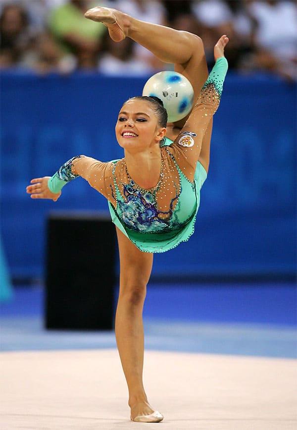 Alina Kabaeva - Russian rhythmic gymnast