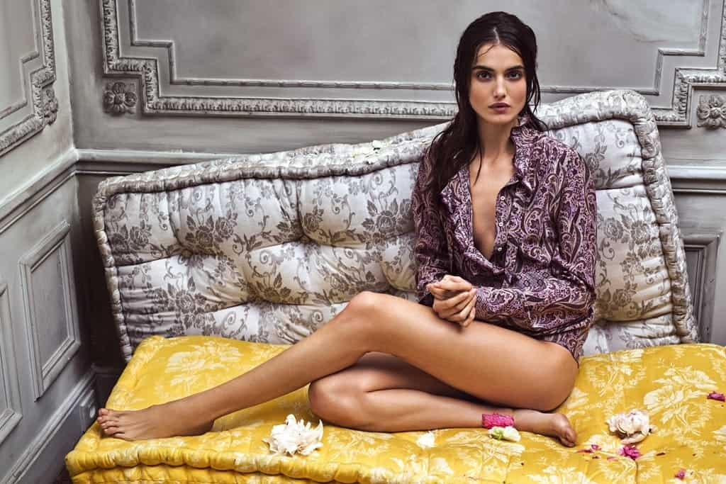 Blanca Padilla long legged pictorial