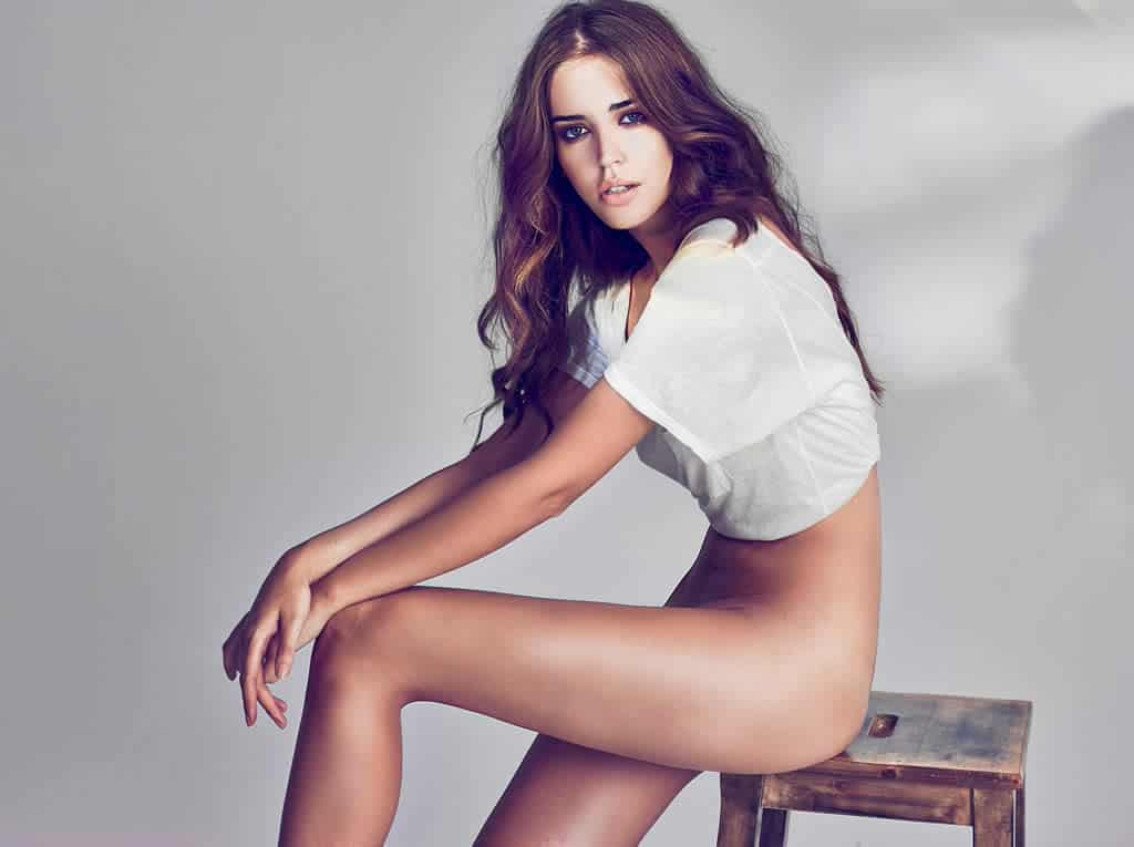 Clara Alonso bottomless