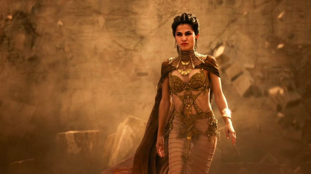 Elodie Yung Gods of  Egypt