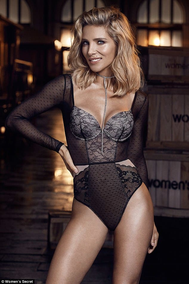 Elsa Pataky Women's Secret pictorial