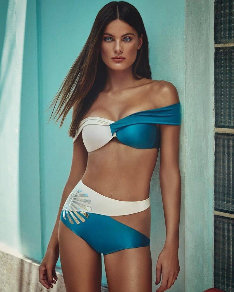 Isabeli Fontana bikini from Agua de Coco summer 2018 collection