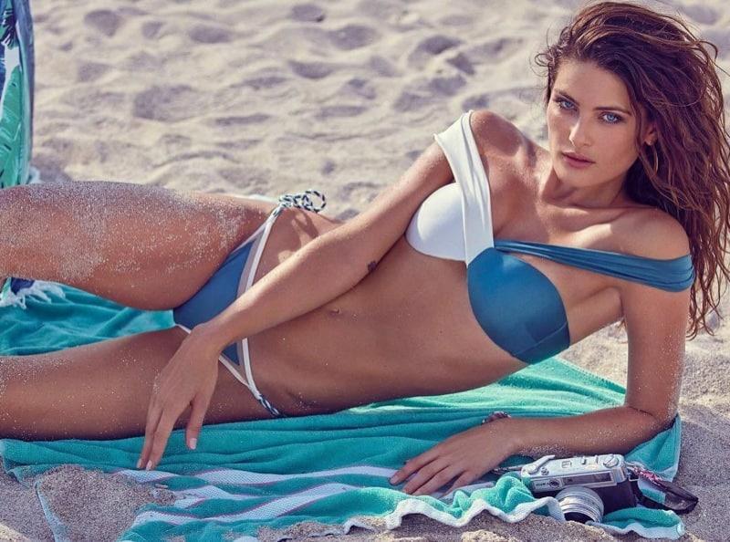 Isabeli Fontana sizzling in swimsuit for GQ Brazil magazine