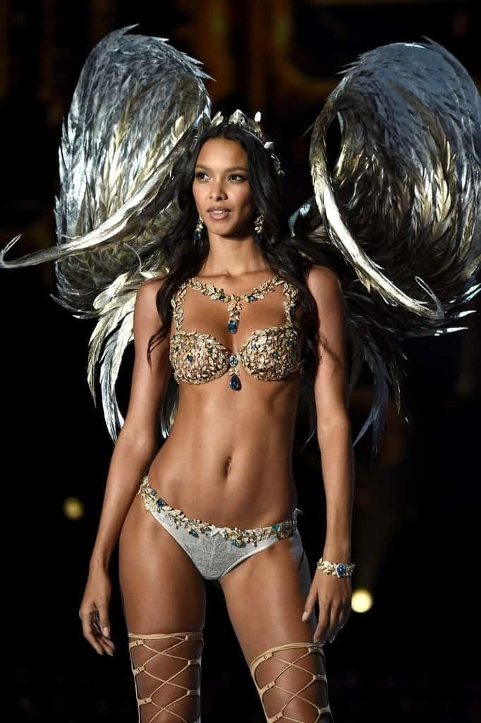 Lais Ribeiro at the Victoria's secret fashion show