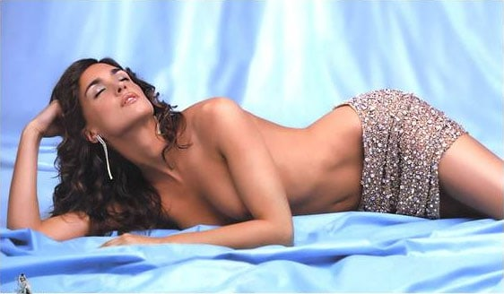 Paz Vega sexy on the bed