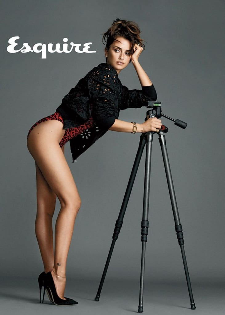 Penelope Cruz Esquire photography