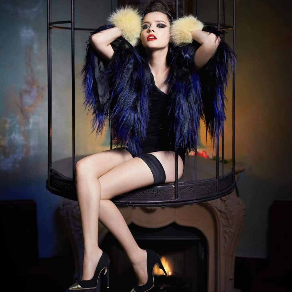 Roxane Mesquida famous french model