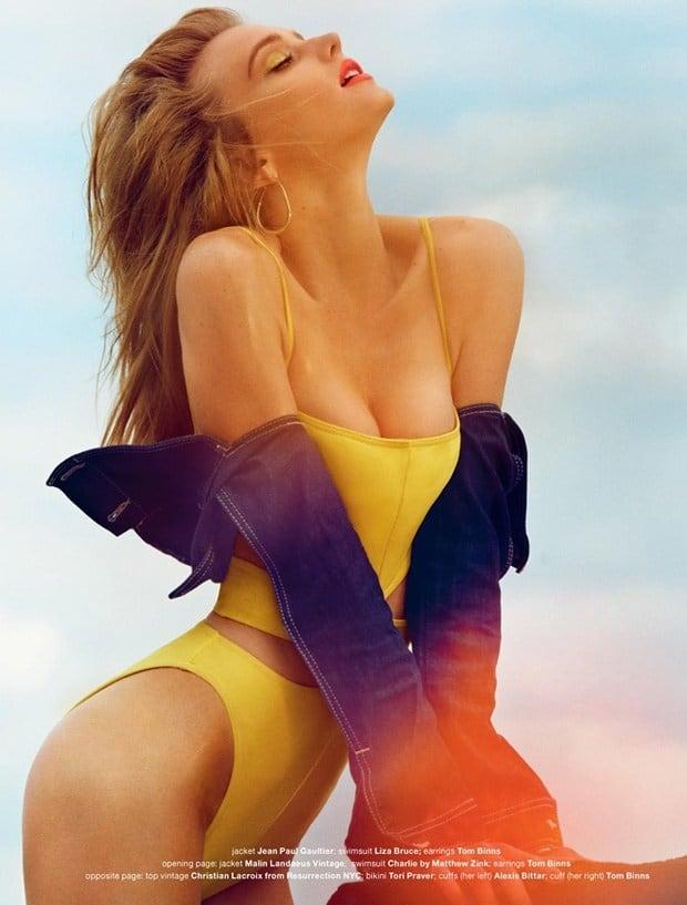 Sigrid Agren swimwear bikini seductive photo