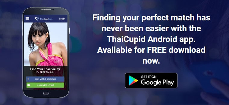 thaicupid on mobile