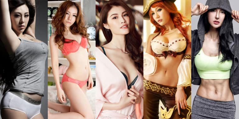 hottest Chinese women