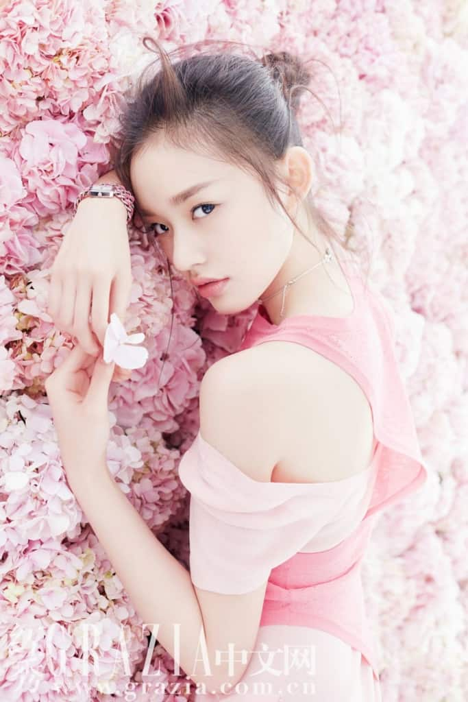 Lin Yun in all pink