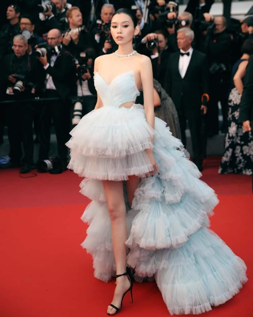 Ming Xi at the Cannes film festival