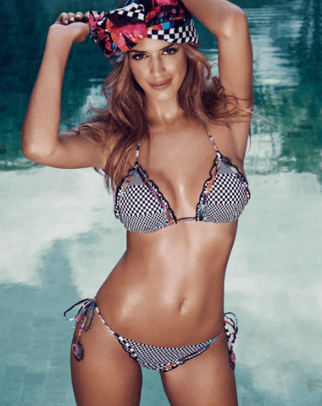 Shannon de Lima in hot bikini two piece