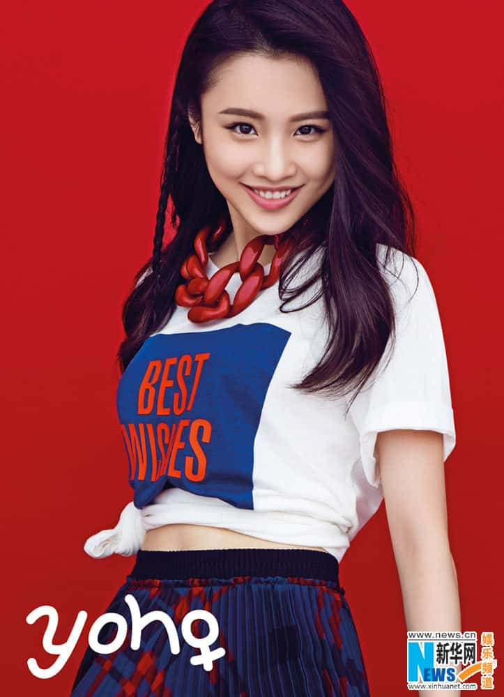 Zhang Huiwen cutie Chinese actress