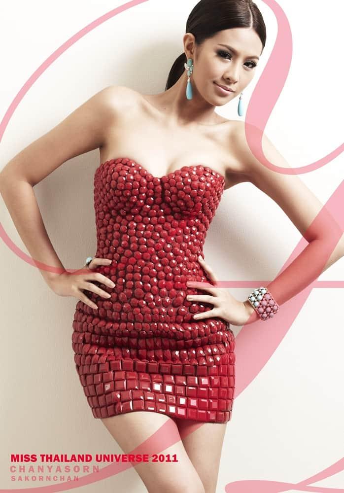 Chanyasorn Sakornchan Miss Thailand Universe beauty queen