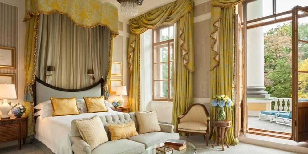 luxury room from Four Seasons Hotel