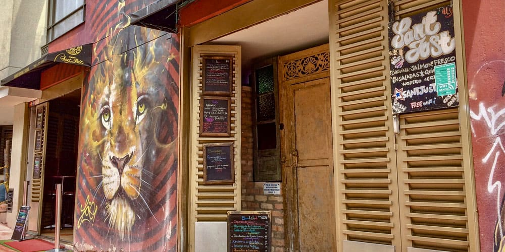 Sant Just Restaurant Bogota, Colombia