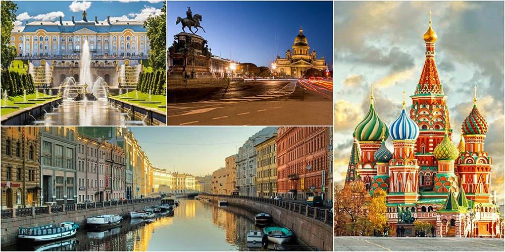 St. Petersburg, Russia city highlight