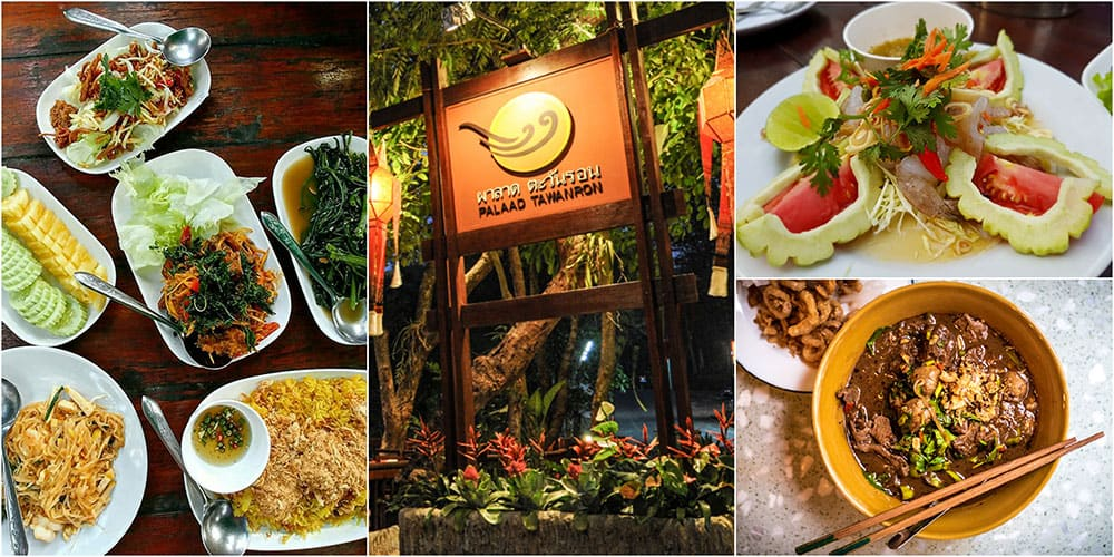 traditional Thai food restos in Chiang Mai