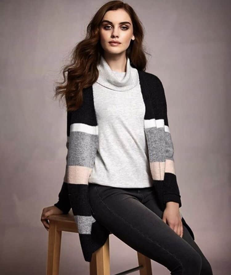 Abby Harris Irish fashion model