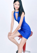 confident and cheerful lady from China