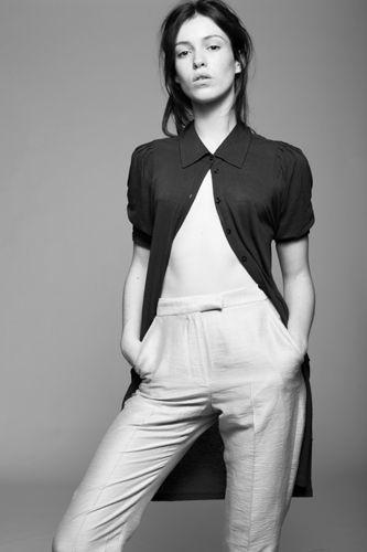Louise Byrne Irish fashion model