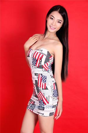 open-minded and happy Chinese girl
